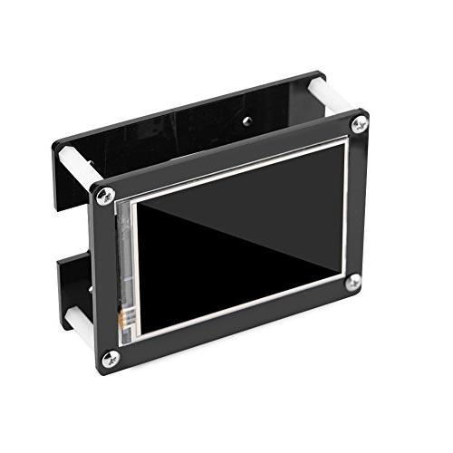 fosa 1080P IPS 60fps 3.5 inch Screen Display Pi 3 Mode Model B+, Model with Black Acrylic Case