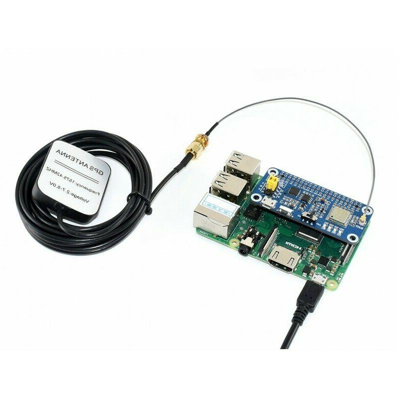 L76X Multi-GNSS Raspberry Multi-GNSS Systems:GPS, BDS,