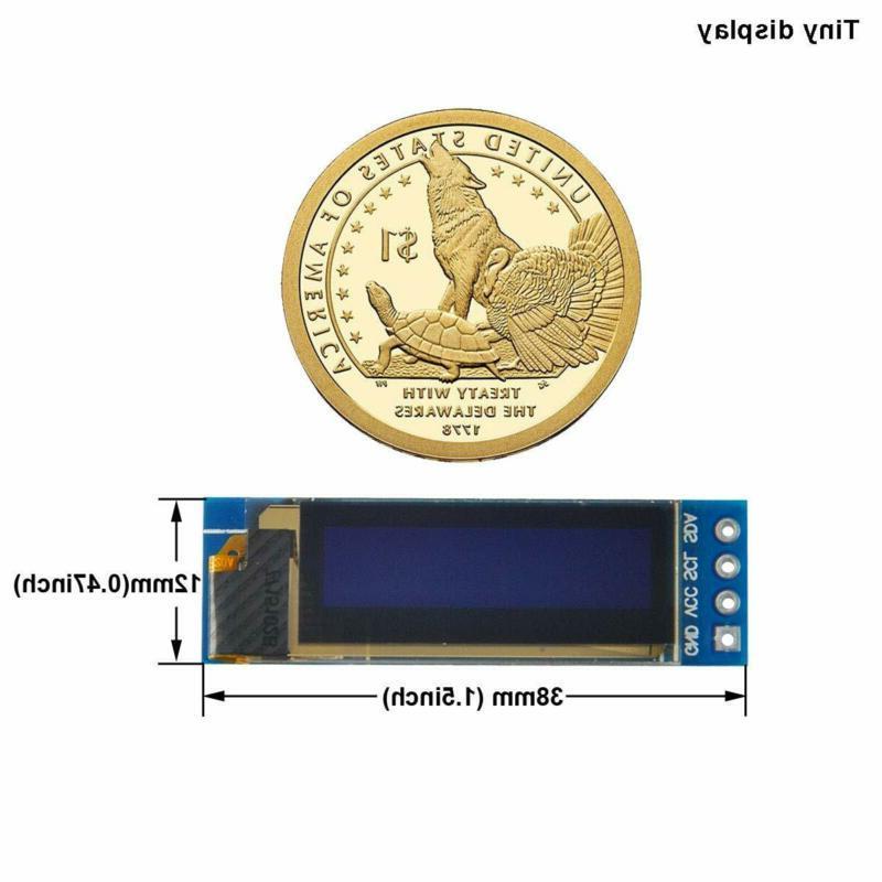 Makerfocus 2pcs SSD1306 Display DC Arduino