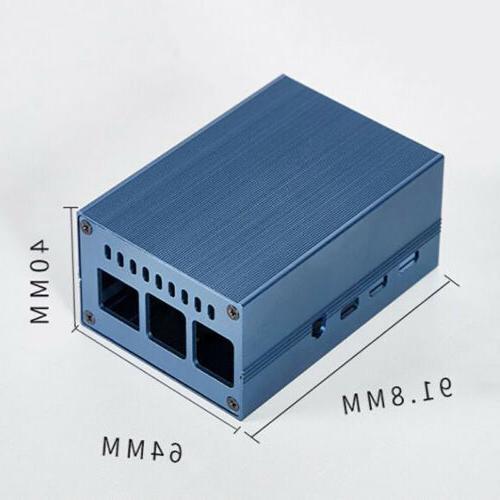 Metal Case Port Cooling Fan Heatsink Accessories For 4