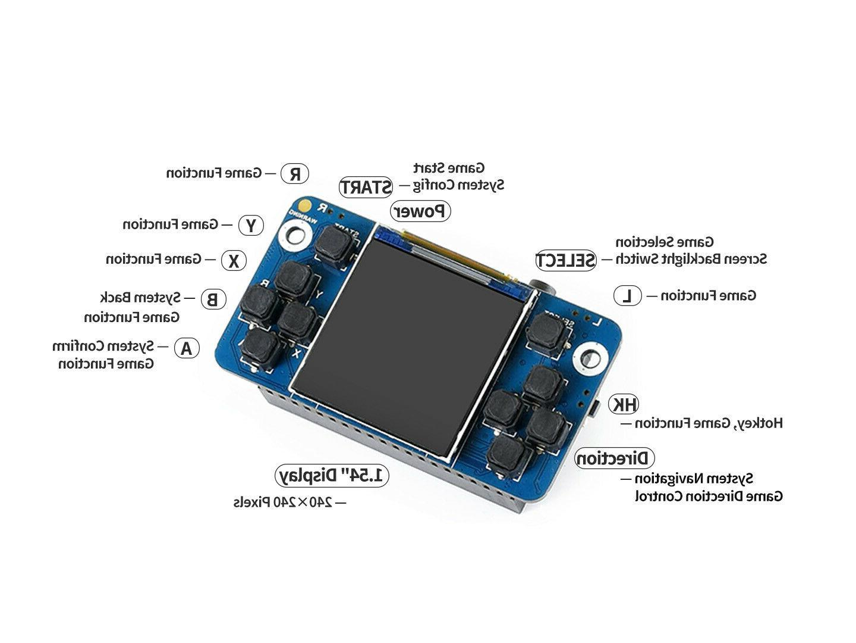 Mini Console Raspberry Pi Zero/B+/2B/3B/3B+