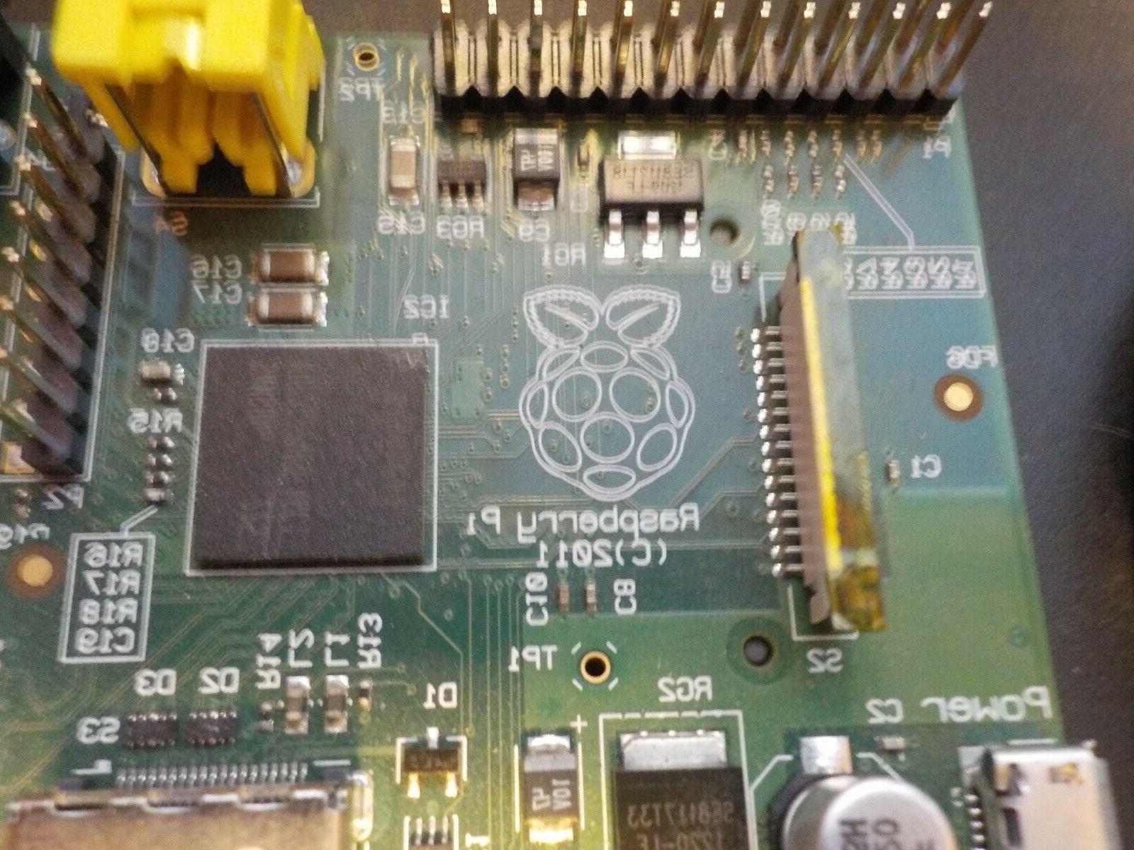 Raspberry Model B 2011 with
