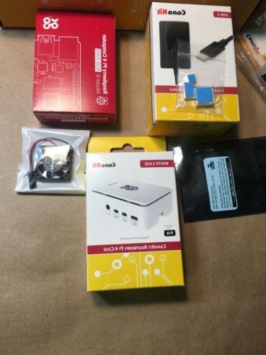 New CanaKit Raspberry 4 4GB Starter Kit 4GB