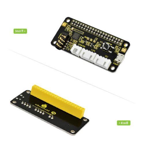 KEYESTUDIO ReSpeaker 2-Mic Pi HAT V1.0 Board for Raspberry P