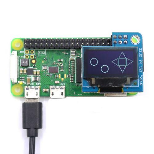 PiOLED monochrome 128x64 OLED Module for Raspberry Pi
