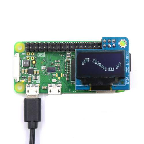 PiOLED monochrome OLED Display for