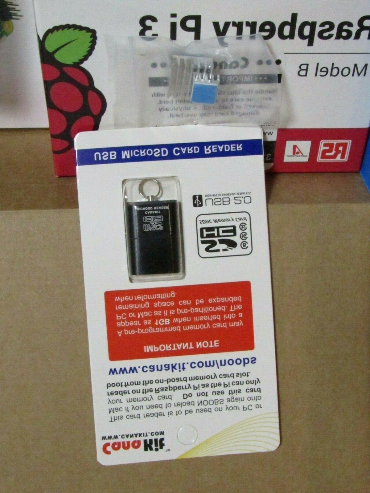 Canakit Pi Starter Kit EVO Micro Card