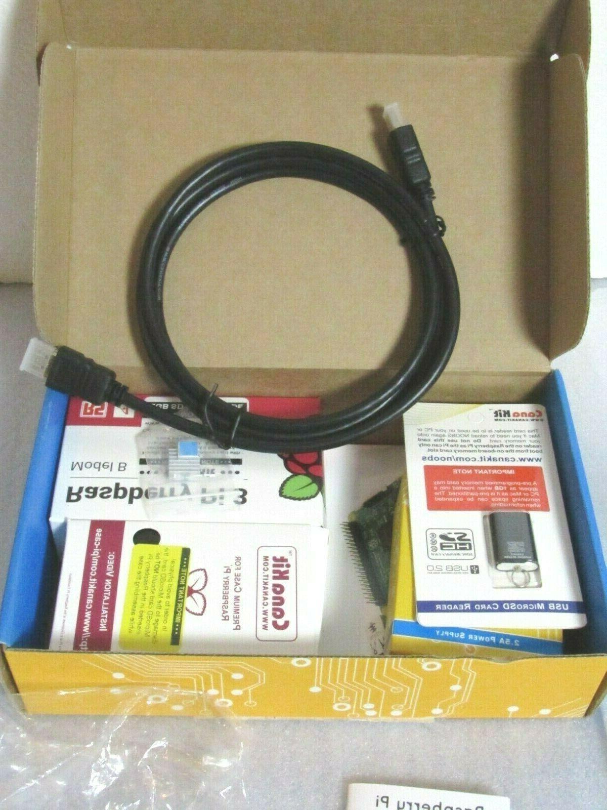 raspberry pi 3b starter kit with samsung