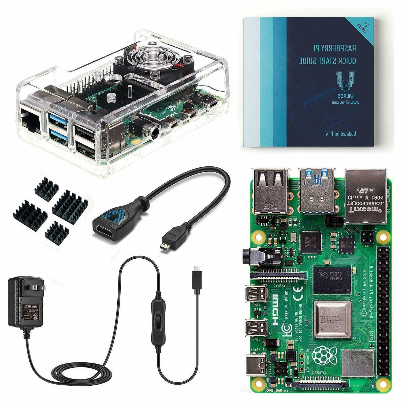 raspberry pi 4 basic kit with fan