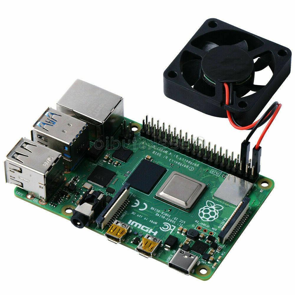 Raspberry 4 Fan Super quiet 4B/3B+/3B