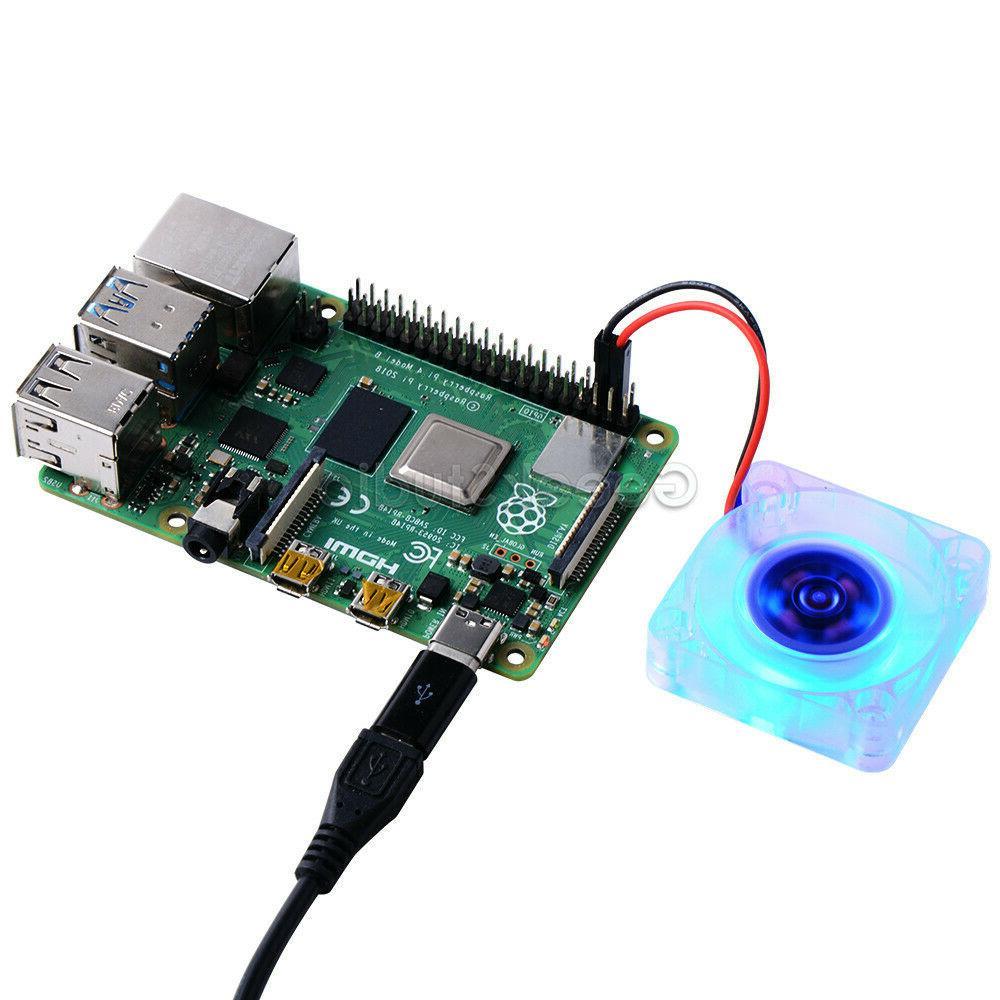 Raspberry Pi Fan quiet Fan 40*40*10mm for Raspberry 4B/3B+/3B