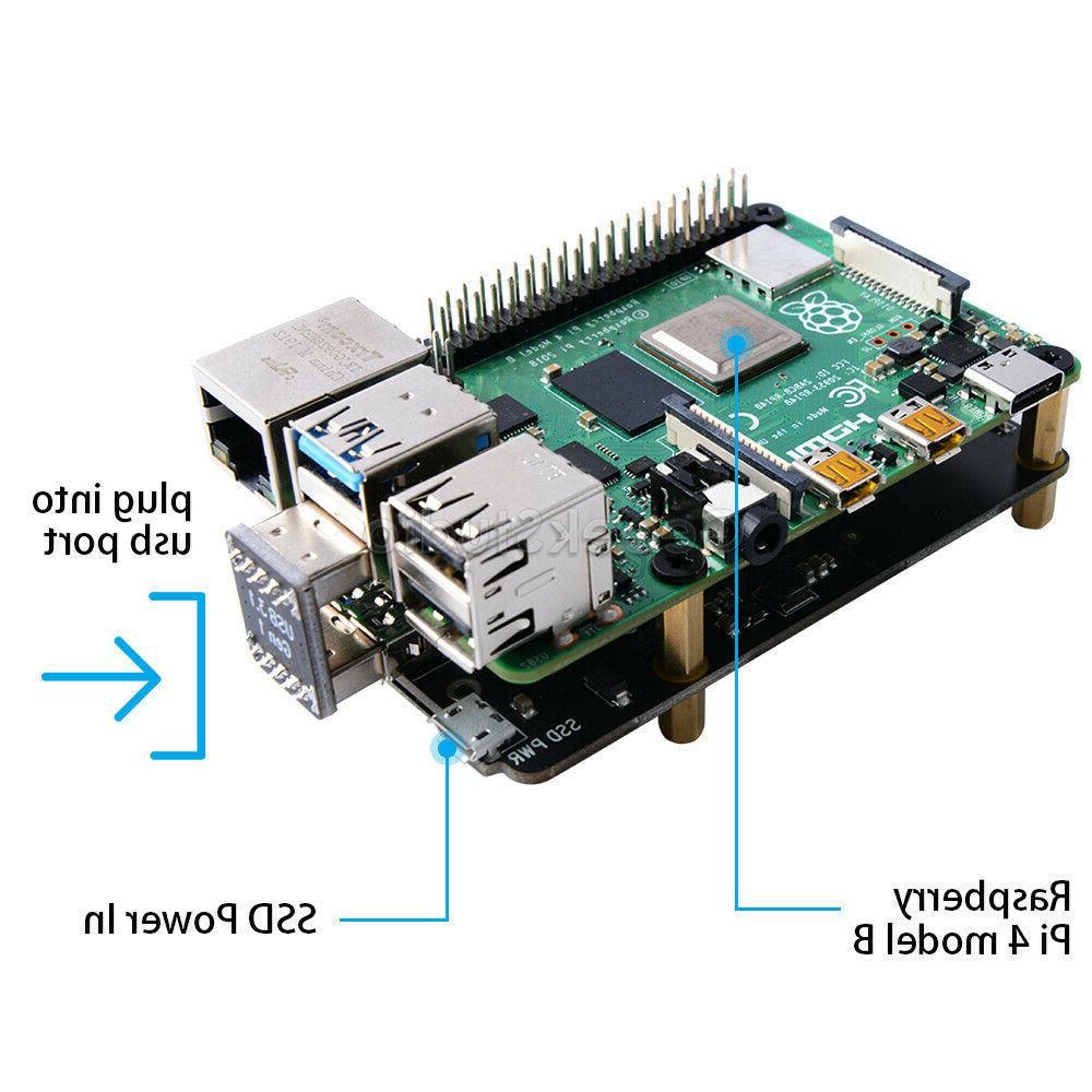 Raspberry SSD Storage Expansion X855 V1.3 Shield
