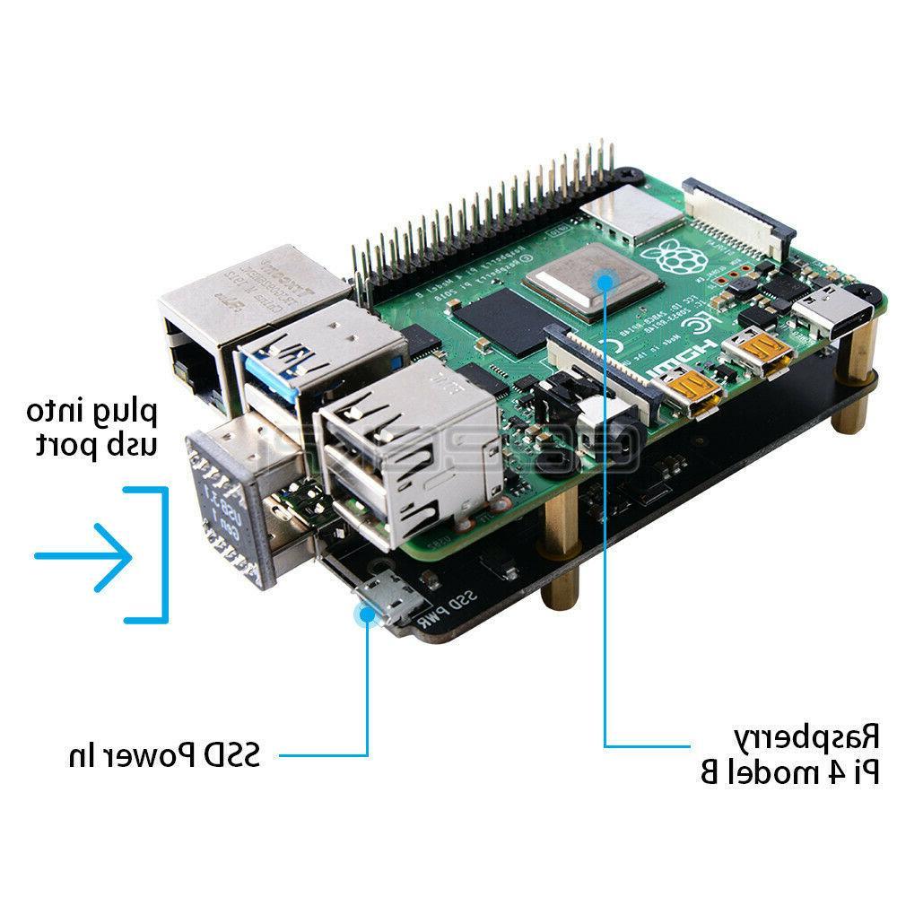 Raspberry V1.3 mSATA Storage Expansion Board