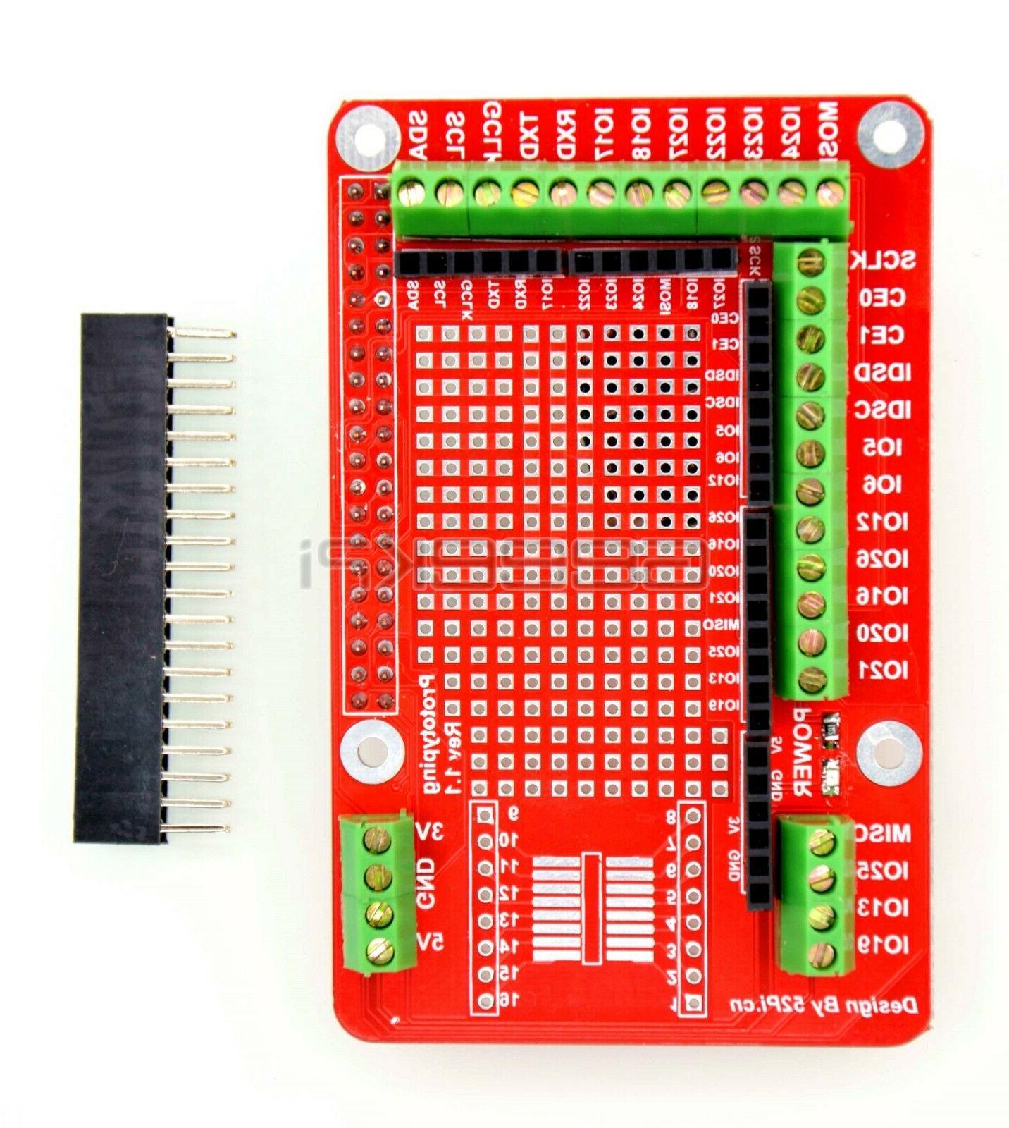Raspberry Pi 4B 3B prototype board Prototyping Pi