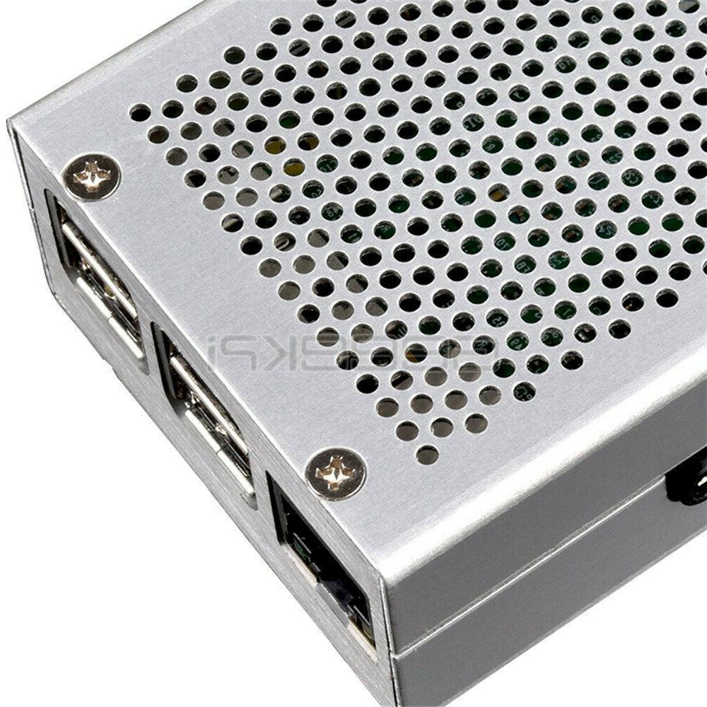 GeeekPi Pi Case Aluminum Metal Case + Supply