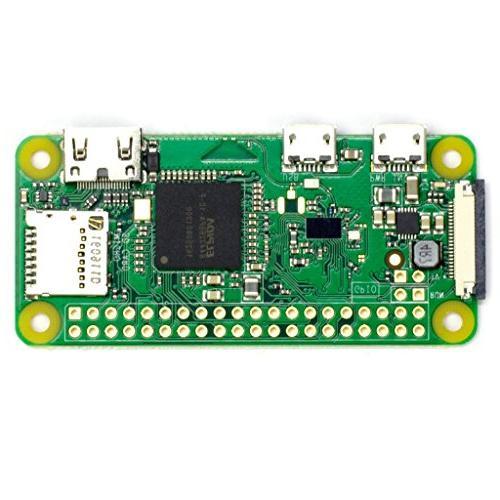 Raspberry Pi Zero W Basic Starter Kit- Black Case Edition--Includes Pi Zero