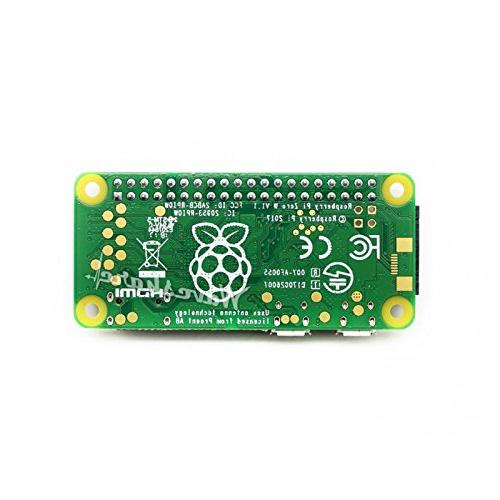 Raspberry Pi WH Bluetooth Headers 1GHz CPU RAM Low-cost Pared-down