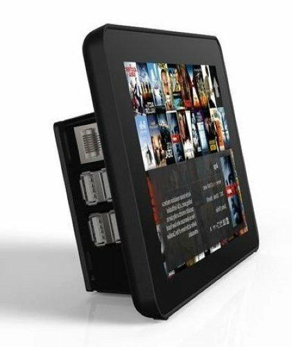 """RS Raspberry Pi 7"""" Touchscreen Black Screen Touch Lcd Case 9"""