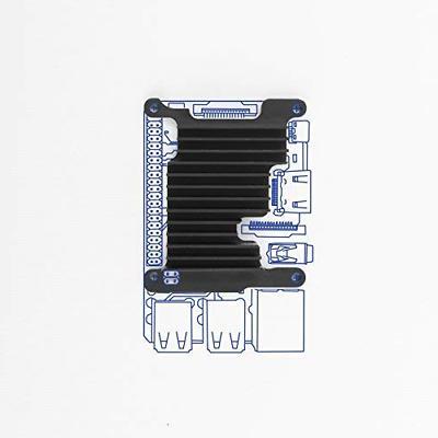 Single Board Computer Kit Raspberry Pi Aluminum Case Easy In