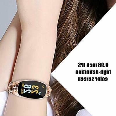ASHATA Smart Watch Smart Steel Band
