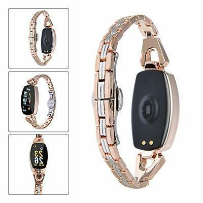 ASHATA Smart Watch Smart Bracelet IP67 Steel