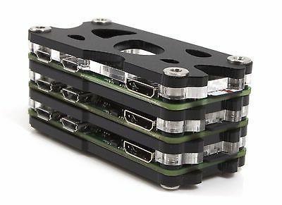 Triple Stack Zero Case for the Raspberry Pi Zero 1.2, 1.3 an