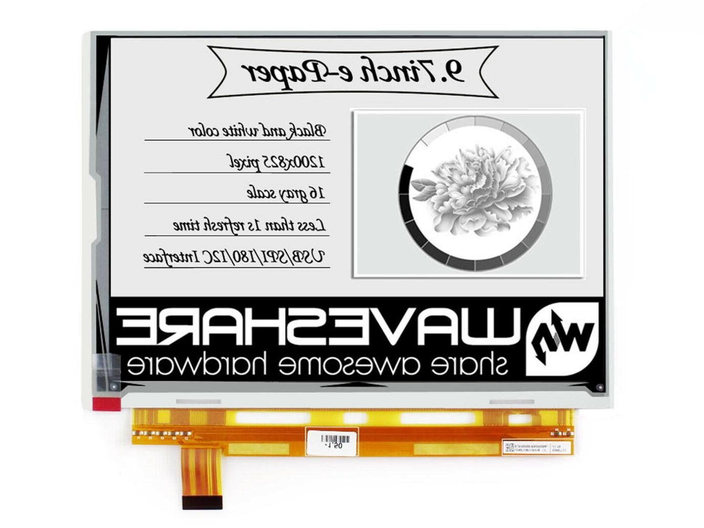 two color 9 7inch e ink display