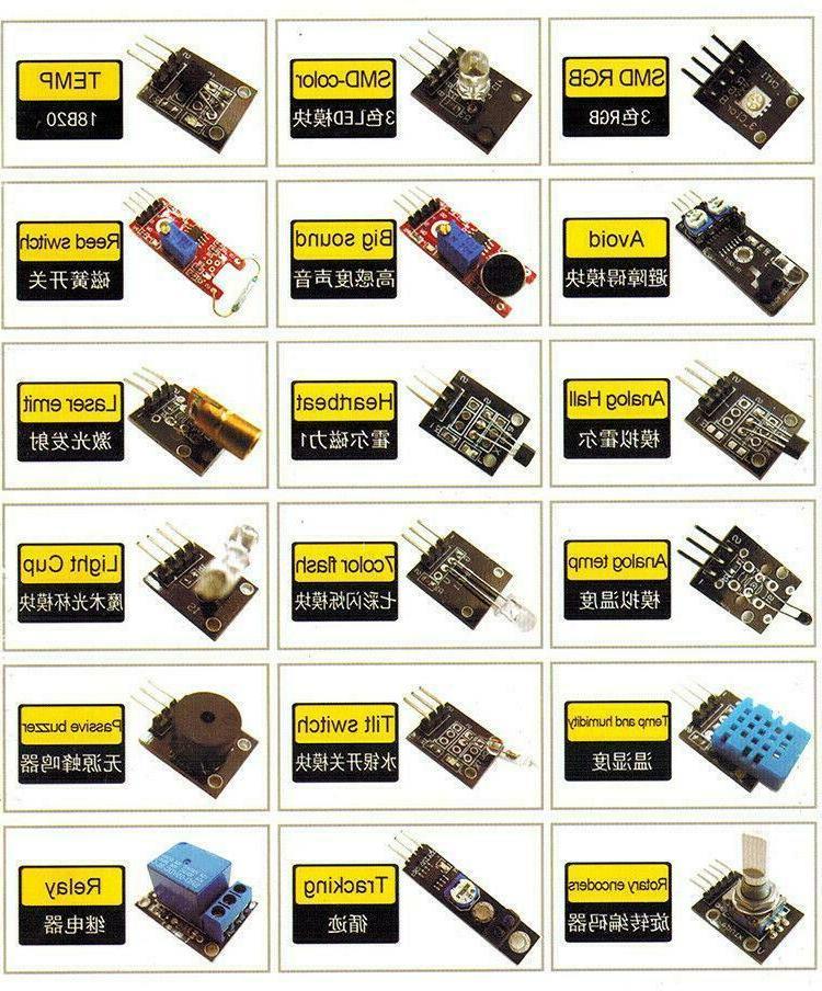 Ultimate 37 in Sensor Arduino Compatible, MCU Raspberry pi