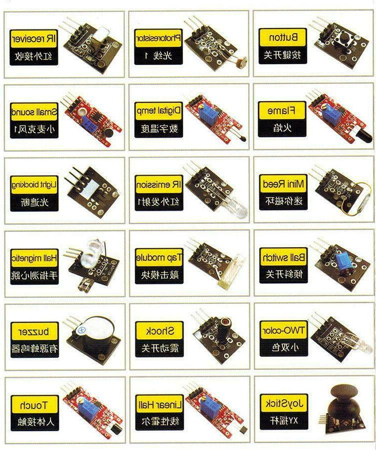Ultimate Sensor Kit Arduino MCU pi USA