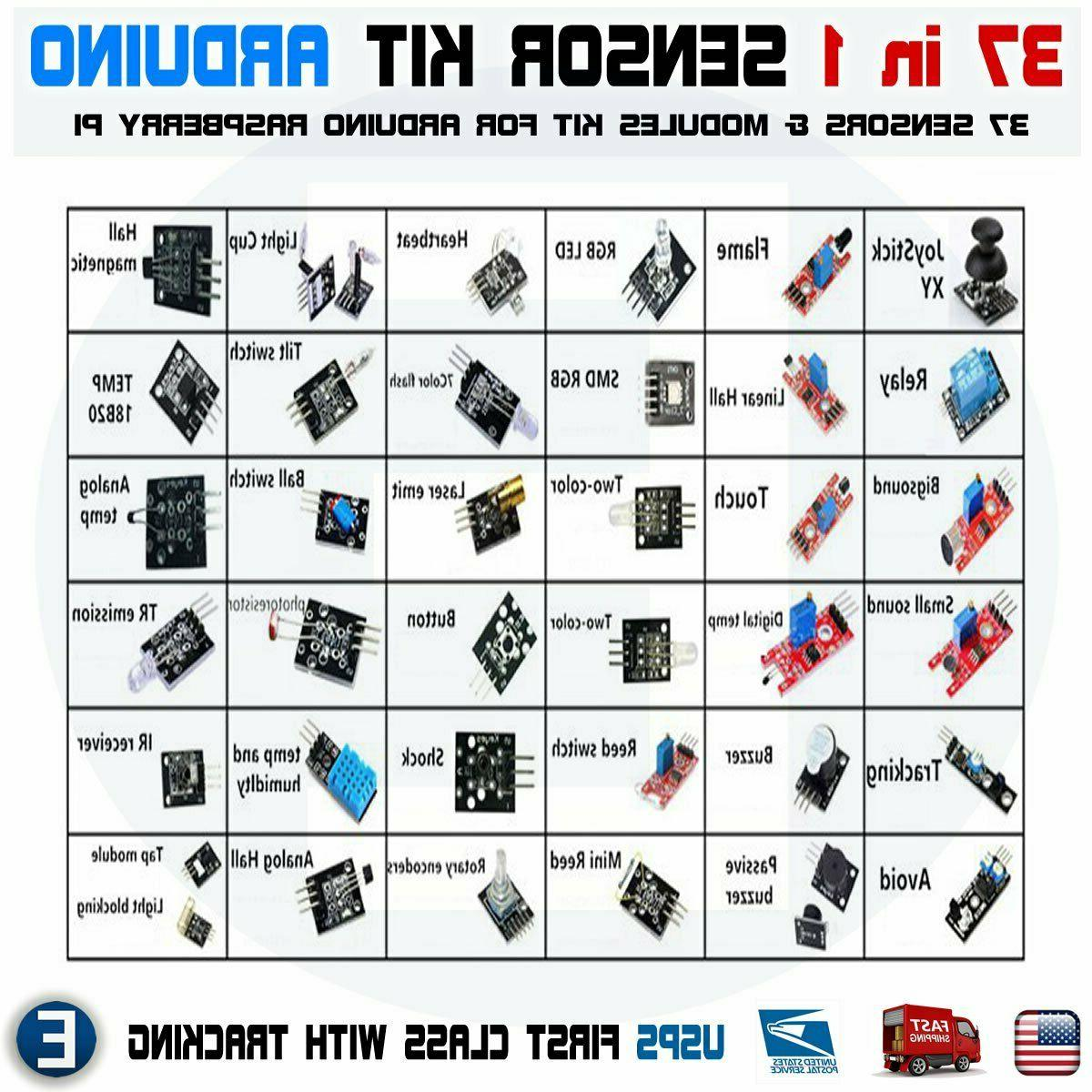 ultimate 37 in 1 sensor modules kit