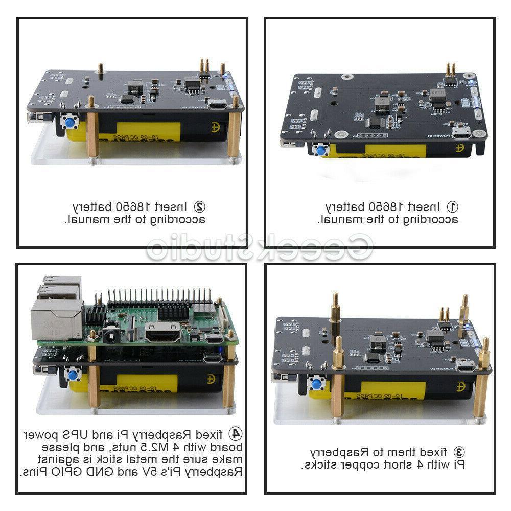 Raspberry Pi Power Supply Device Two USBA Pi 4B/3B+