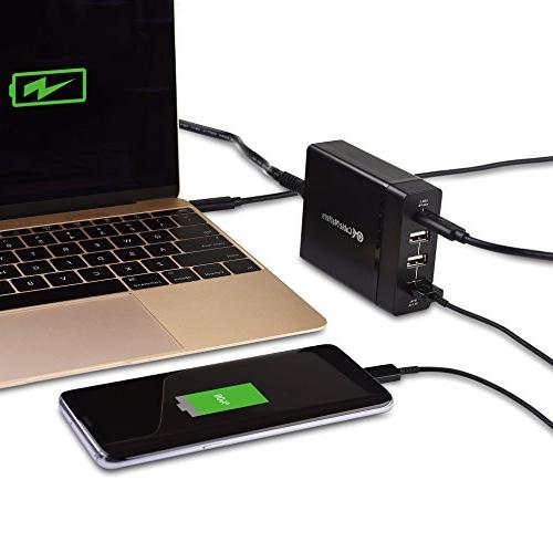 Cable 60W Power for Laptops, Tablets, and Smartphones in
