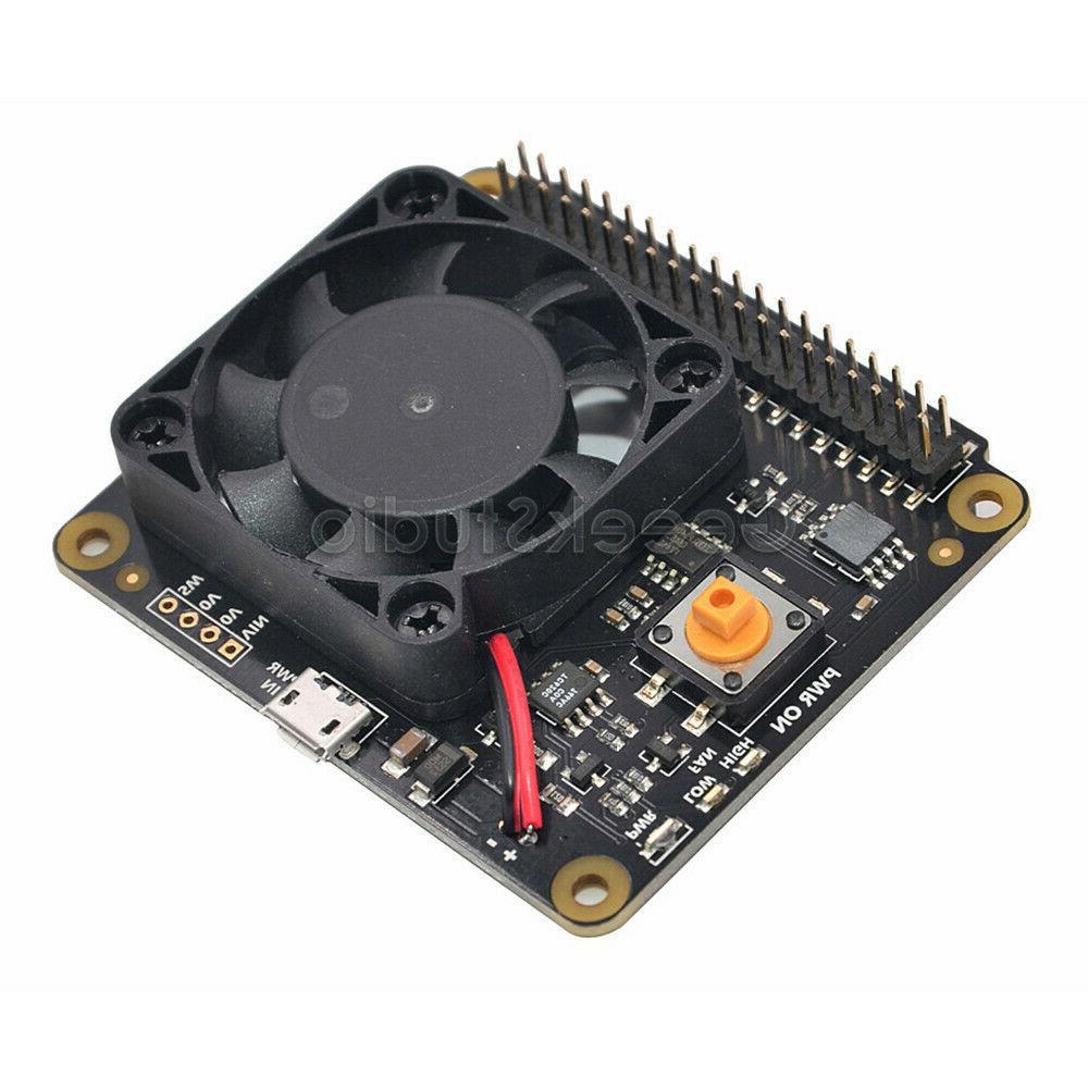 X730 Board Fan Kit / Power Adapter for Raspberry