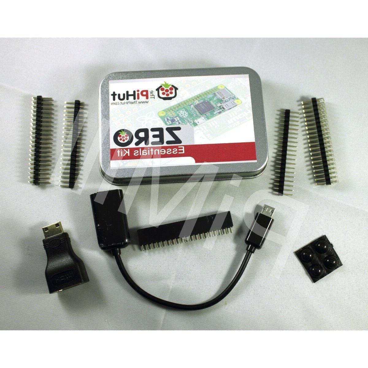 Raspberry Pi Zero W  & Zero Essentials Kit