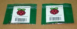 Lot of 2 Raspberry pi Zero 1.3 Camera Ready BRAND NEW - NOT