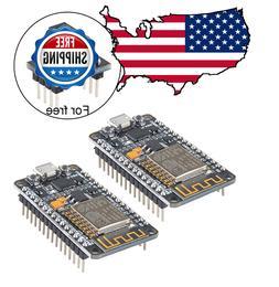 MakerFocus 2pcs ESP8266 NodeMCU LUA CP2102 ESP-12E Internet