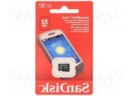 SanDisk 32GB Micro SDHC Flash Memory Card Model SDSDQM-032G-