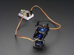 Mini Pan-Tilt Kit - Assembled with Micro Servos for Raspberr