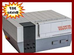 NES Retro Brick Raspberry Pi 4B 3B 3B+ 2B Case 307 Bricks Re