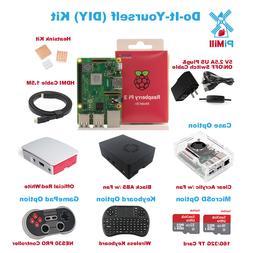 New Raspberry Pi 3 Model B+ B plus Do-It-Yourself  Kit US Se