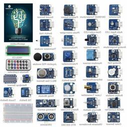 SunFounder New 37 modules Arduino Sensor Kit V2.0 for Arduin