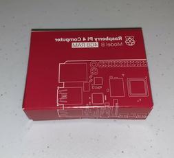 New Raspberry Pi 4 Model B - 4GB Ram! Quad Core, USB-C, 4K H