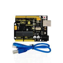 New ! Keyestudio ATmega328P ATMEGA16U2 Board For Arduino UNO