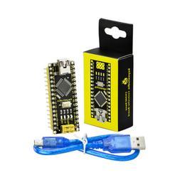 Keyestudio NEW Mini CH340 Nano Micro Controller Board + USB