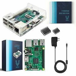 Vilros Raspberry Pi 3 Kit with Clear Case and 2.5A Power Sup