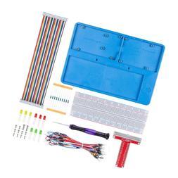 New,SunFounder Raspberry Pi RAB Holder Breadboard Kit with 8
