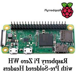 New Raspberry Pi Zero WH Wireless - Development Board with p