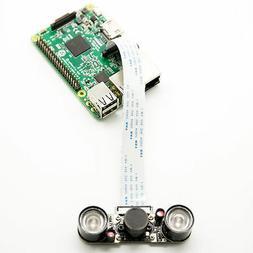 Odseven Raspberry Pi 3 B+ 5MP Camera Kit w/ Focal Adjustable