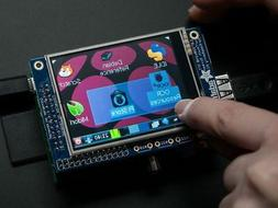 "Adafruit PiTFT - 320x240 2.8"" TFT+Touchscreen for Raspberry"