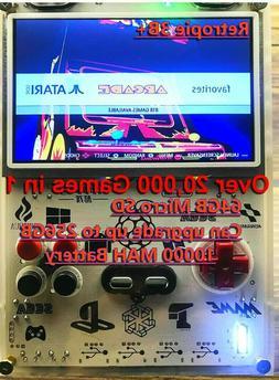 Portable Handheld Raspberry Pi 3B+ 256GB Video Game System R